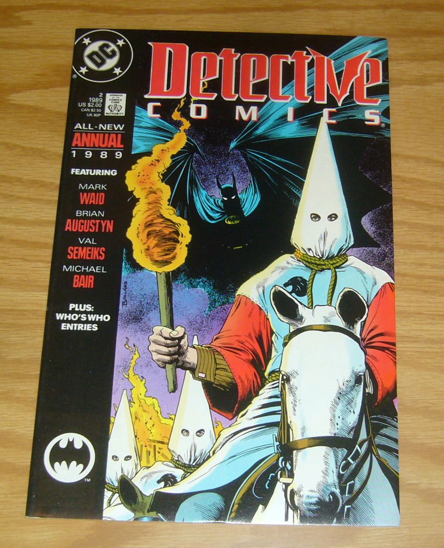 Batman vs Ku Klux Klan VF Detective Comics Annual 2 ; DC