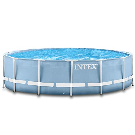 Intex Premium de Pool 457 x 122 cm Piscina Marco de Metal