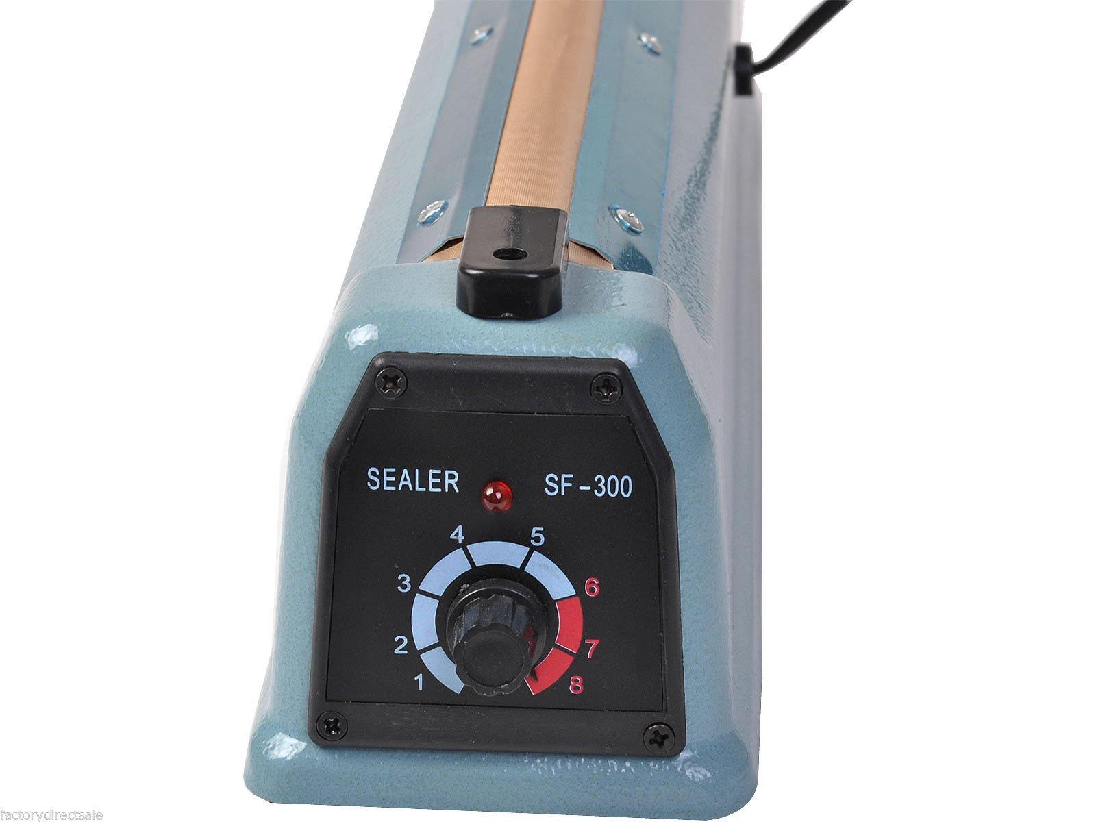 Super buy 12'' Heat Sealing Hand Impulse Sealer Machine Poly Free Element Grip& Teflon by Goplus (Image #9)