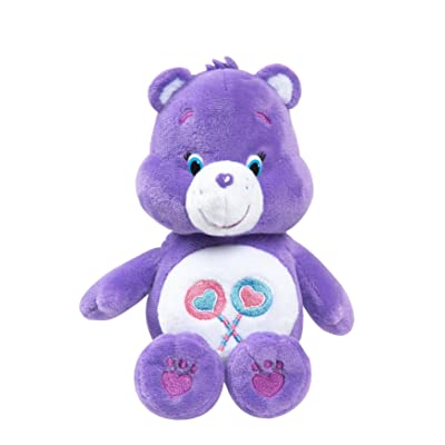 Just Play Care Bear Beans Share Plush: Toys & Games