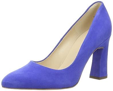 Peter Kaiser Carolin, Women's Pumps, Blue (Riviera Suede 590), 37.5 EU
