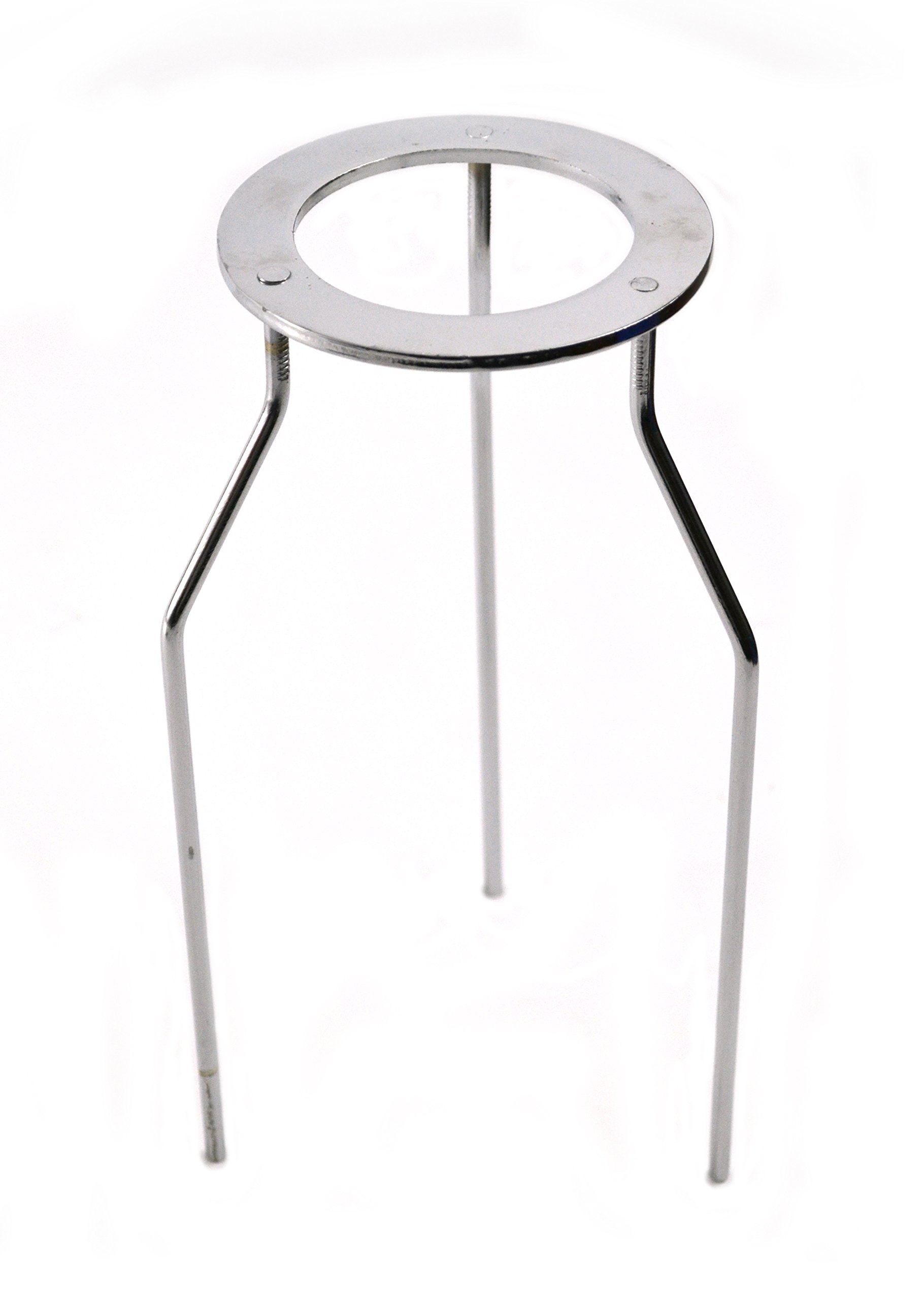 Eisco Labs Stainless Steel Circular Tripod Stand - 8.75'' Tall by EISCO