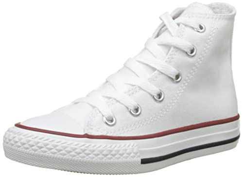 230dcc90db Image Unavailable. Image not available for. Color  Converse Unisex All Star  Hi Optic White Fashion Sneakers