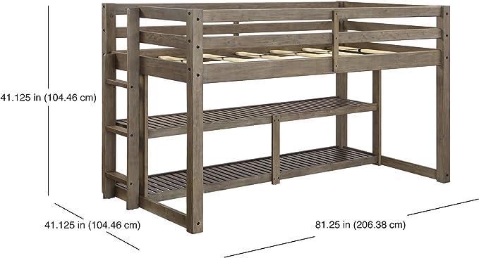Better Homes And Gardens Loft Storage Bed With Spacious Storage Shelves And 6 Bunk Bed Innerspring Mattress Twin Bundle Black Storage Organization Home Kitchen Ferreira Reinigungen Ch