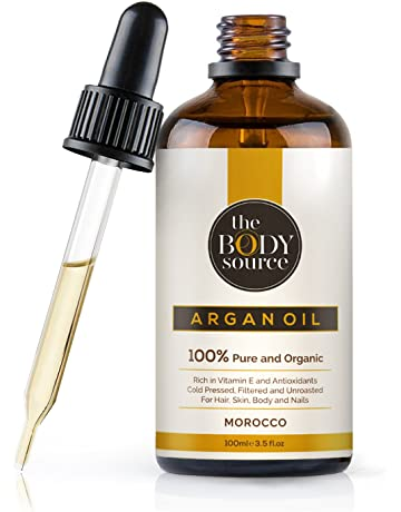 The Body Source - Puro Aceite de Argán 100% Orgánico, Rico en vitamina E