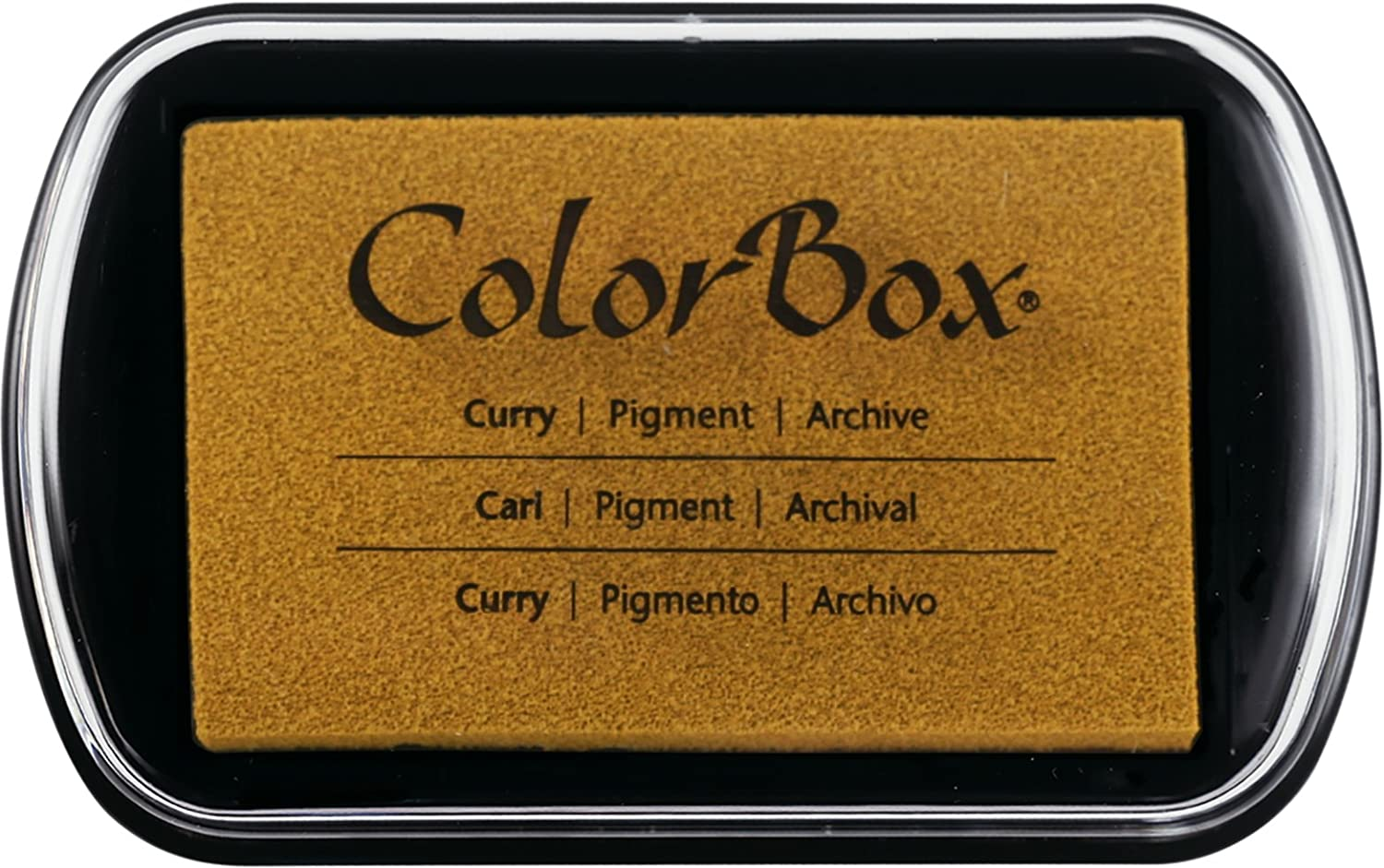 Clearsnap ColorBox Pigment Inkpad, Chestnut Brown 150000-15165