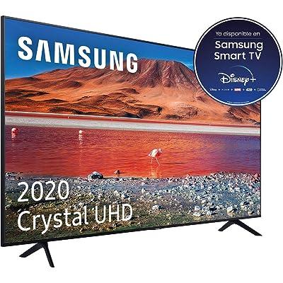 """Samsung Crystal UHD 2020 43TU7005- Smart TV de 43 """"con Resolución 4K, HDR 10+, Crystal Display, Procesador 4K, PurColor, Sonido Inteligente, Función One Remote Control y Compatible Asistentes de Voz"""