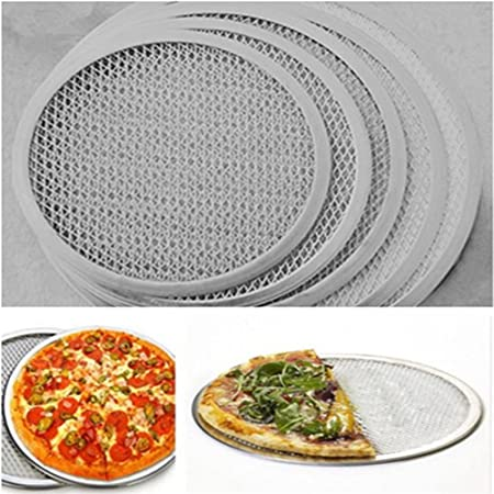 gluckliy Pizza Screen Pizza rejilla Back rejilla de aluminio, 7 ...