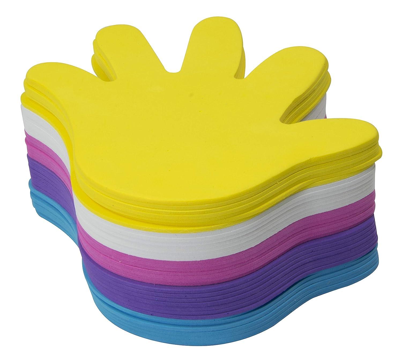 Bl/üte Craft Line 35 Platten Schaumstoff Motiv Zuschnitt zum Basteln 2mm dick 5 Farben Schaumstoffplatten wie Moosgummi Bastel-Schaumformen