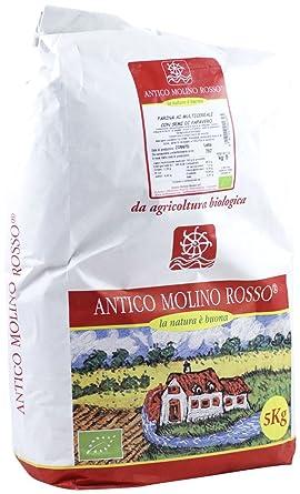 Harina Multicereales con amapola semillas 5 kg BIO