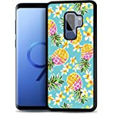 for Samsung S9+, Galaxy S9 Plus, Durable Protective Soft Back Case Phone Cover, HOT12667 Pineapple Tropical 12667