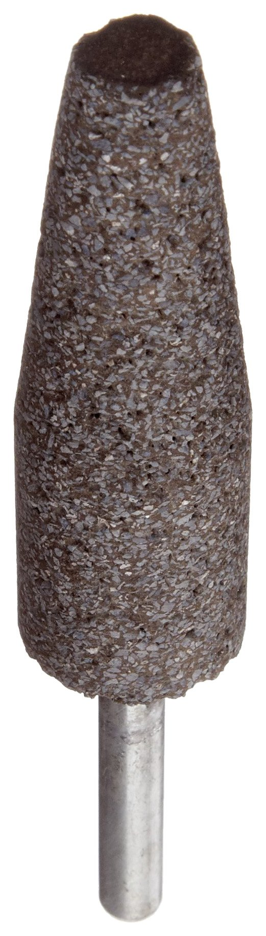 Norton NorZon Resin Bond Abrasive Mounted Point, Zirconia Alumina, A1 Shape, 1/4'' Spindle Diameter, 3/4'' Diameter x 2-1/2'' Thickness, Grit 24 (Pack of 5)