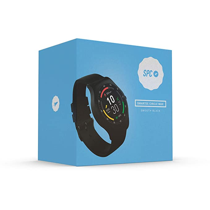 SPC Smartee Circle MAX Reloj Inteligente con Memoria RAM 64MB, ROM ...