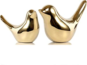 Fantastic Ryan Small Animal Statues Home Decor Modern Style Gold Decorative Ornaments for Living Room, Bedroom, Office Desktop, Cabinets
