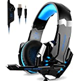 Amazon Price History for:DIZA100 Kotion Each G9000 Gaming Headset Headphone 3.5mm Stereo Jack with Mic LED Light for Xbox One S/Xbox one/PS4/Tablet/Laptop/Cell Phone-Black&Blue
