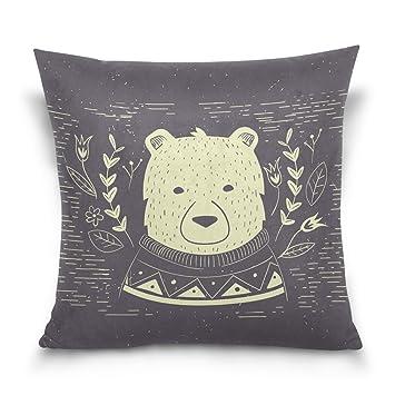 Amazon.com: Azul Viper minimalista Hipster osos polares ...