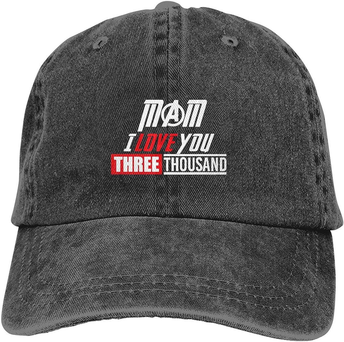 MAM I Love You Three Thousand Adjustable Denim Hats
