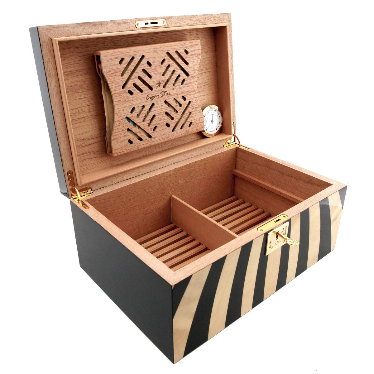 Cigar Star Boketto Humidor Limited Edition Optical Illusion Made from Wood! by Cigar Star (Image #6)