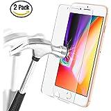 [2 pièces] Protection écran iPhone 8 / iPhone 7, Ultra Résistant Film Protection en Verre Trempé écran Protecteur Vitre pour iPhone 8 / iPhone 7