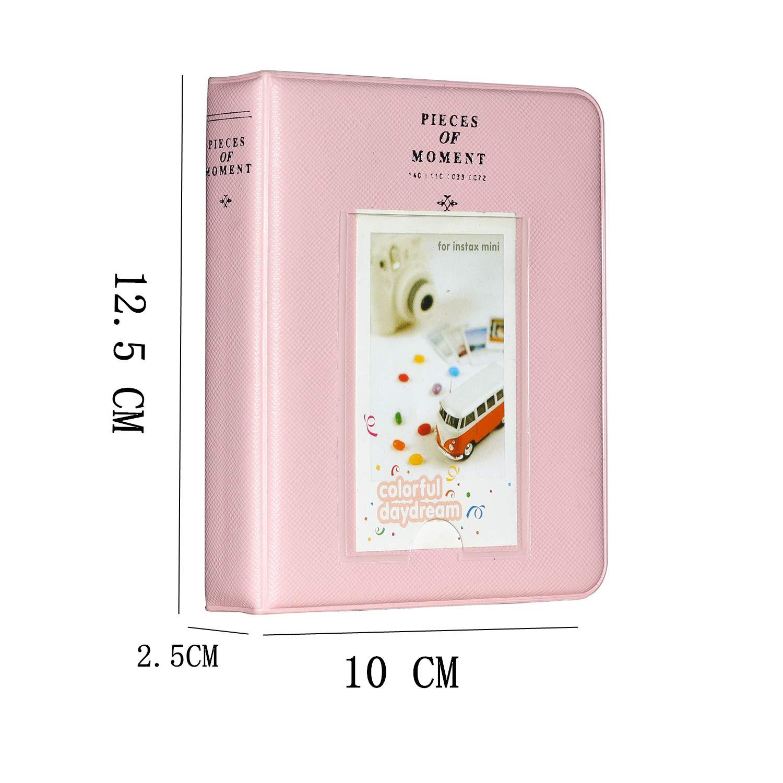 Mini 90 Polaroid PIC-300P Mini 8 Mini 25 Mini 70 // Mini 9 Brappo 3-Inch Photo Album Accesorios para Fujifilm Instax Mini 7s Mini 8 Polaroid Z2300 Pel/ícula Incluyendo Marco Colgante