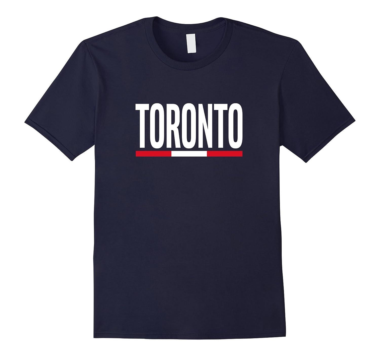 TORONTO City Pride Canada Flag Design T-Shirt-CD