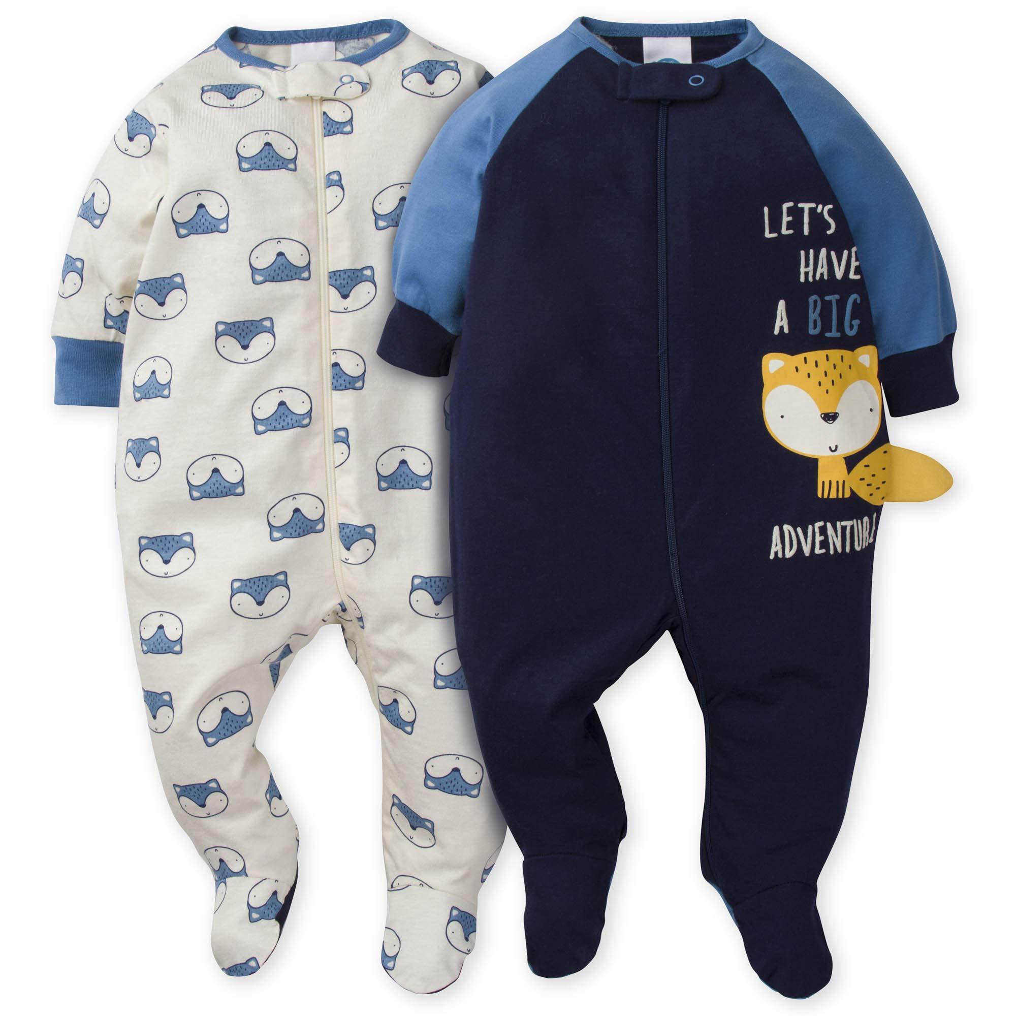 Gerber Baby Boys' 2-Pack Sleep 'N Play