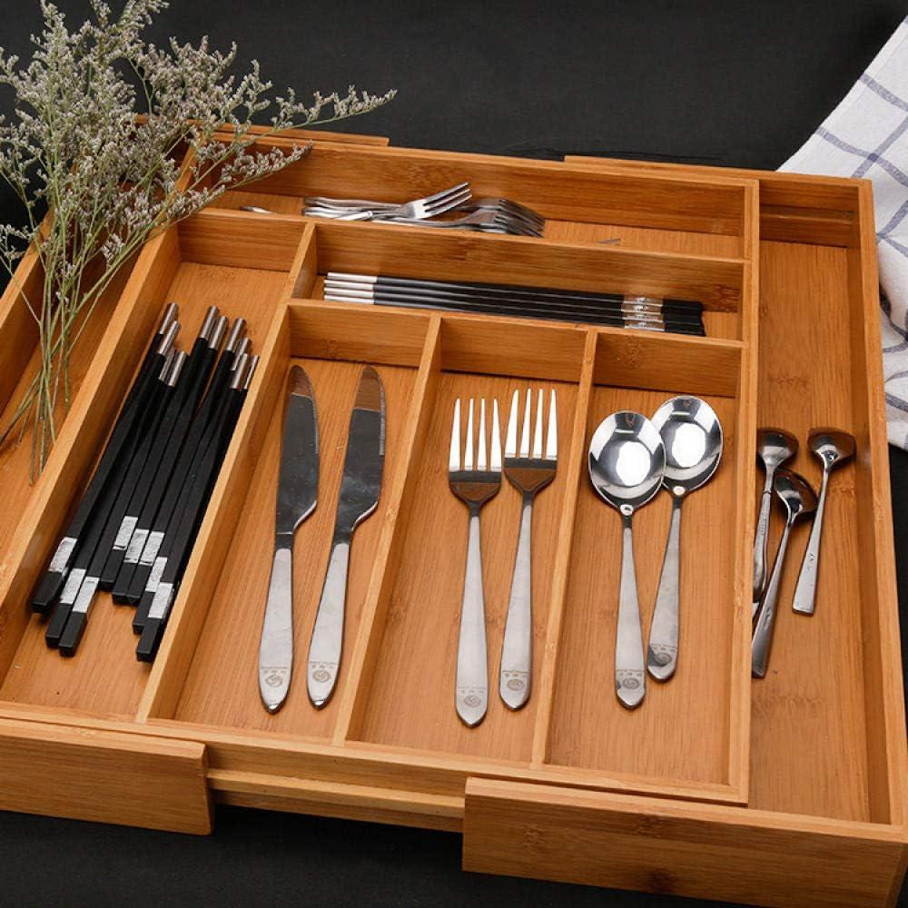 Alvar - Caja de madera para cubiertos y cuchillos, organizador ...
