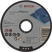 Bosch - 115*1, 6 mm Standard Seri Düz Metal Kesme Diski (Taş), Gri, 1 Adet