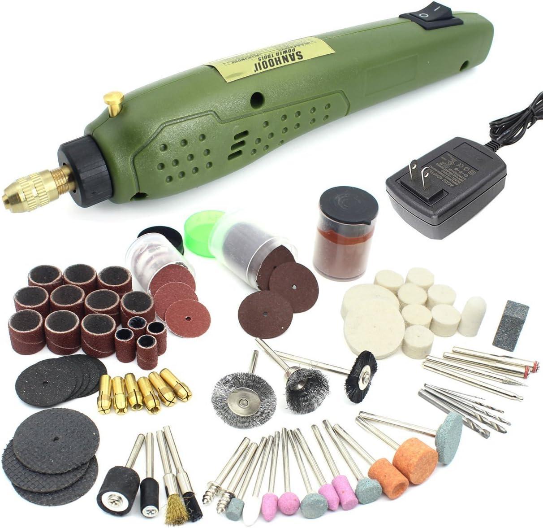 NEW Mini Handheld Electric Grinder Set 6000-15000rpm Power Rotary Tool Kit W3R5