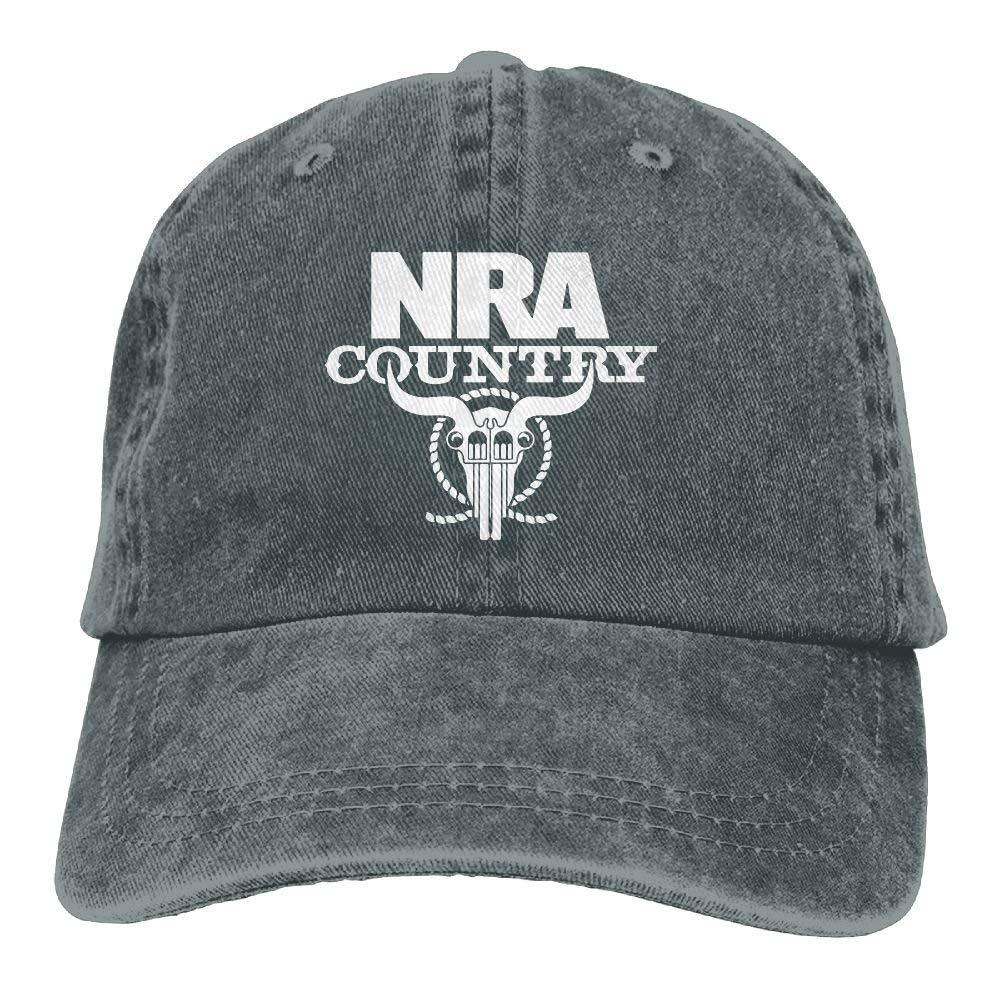 OKME Custom NRA Country Ajustable Gorra de beisbols Denim ...