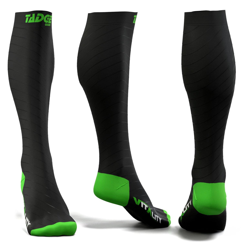 eda4e29983 Compression Socks for Men & Women (20-30 mmhg) – Best Graduated Pressure  Stocking, Support Circulation Socks | Athletic Fit For Running, Nurses, ...