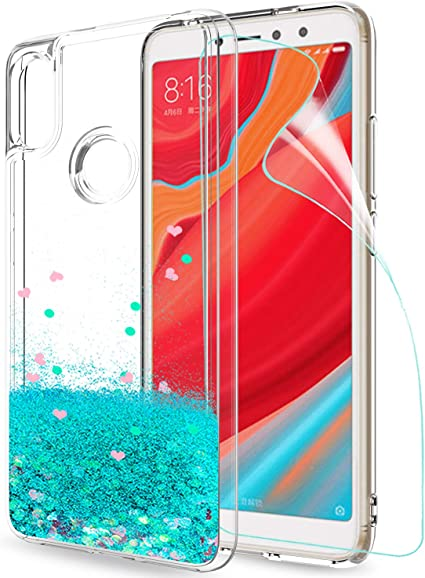 LeYi Funda Xiaomi Redmi S2 / Redmi Y2 Silicona Purpurina Carcasa ...