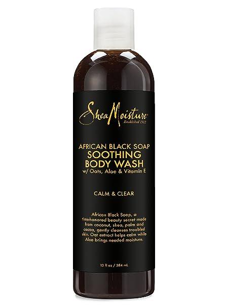 SheaMoisture African Black Soap Body Wash   13 oz