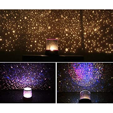 OYTRO Portable Beautiful LED Projection Lamp Party Decoration Lamp Night Lights