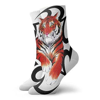 Zhengzho Tatuaje de dibujos animados fresco salvaje tigre atlético ...