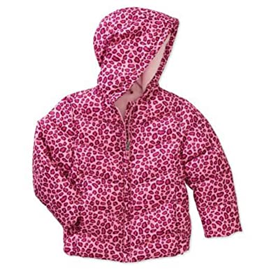 8f306e8b6 Amazon.com  Healthtex Infant Girls Pink Leopard Print Winter Coat ...