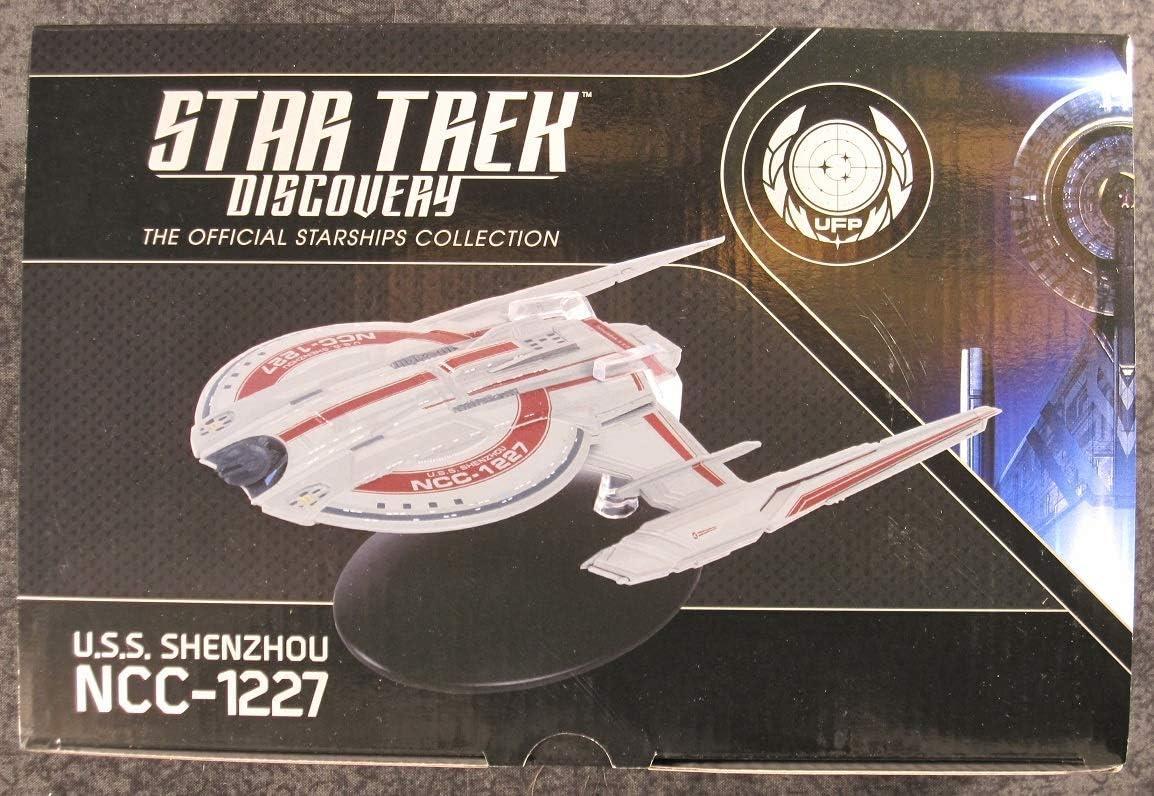 Star Trek Discovery Starships Collection Eaglemoss #1 U.S.S Shenzhou ncc-1227 e