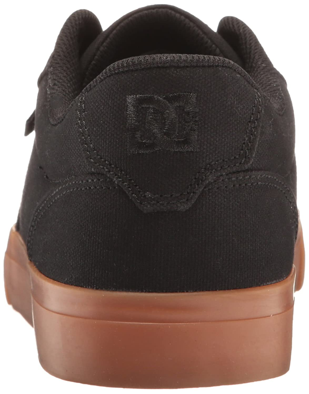 82ad131721d Zapatillas de skate DC Anvil TX para hombre Negro   Negro   Goma