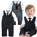 d1a43fb22982 Amazon.com  ZOEREA Baby Boy Outfits Set