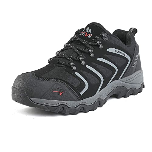 8961b42ae78 NORTIV 8 Men's Low Top Waterproof Hiking Boots Outdoor Lightweight Shoes  Backpacking Trekking Trails
