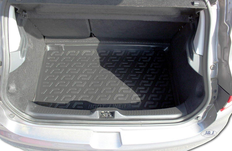 Tapis DE Coffre Caoutchouc Premium Compatible avec Renault Clio IV 2012-pr/és J/&J AUTOMOTIVE