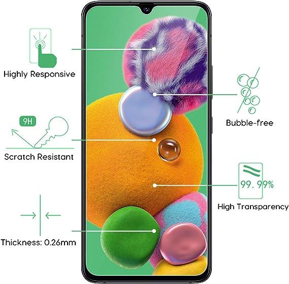 Migimi Protector Pantalla Samsung Galaxy A90 5G/A70, [3-Pack ...