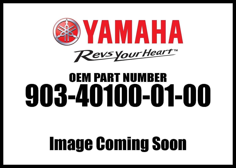 Straight Screw; 903401000100 Made by Yamaha Yamaha 90340-10001-00 Plug