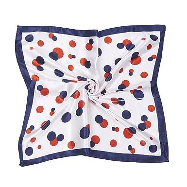 femmes carre echarpe foulard en satin main tete mainbag multi-usages  50cm 50cm d9924a22fbc