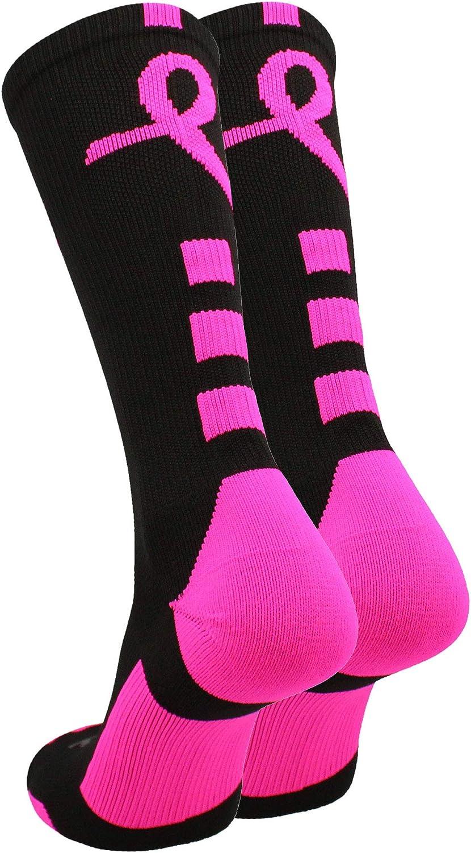 TCK Texas A/&M Aggies Breast Cancer Awareness Crew Socks