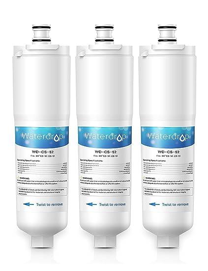 Waterdrop CS-52 reemplazo del filtro de agua del refrigerador para 3M Cuno CS-