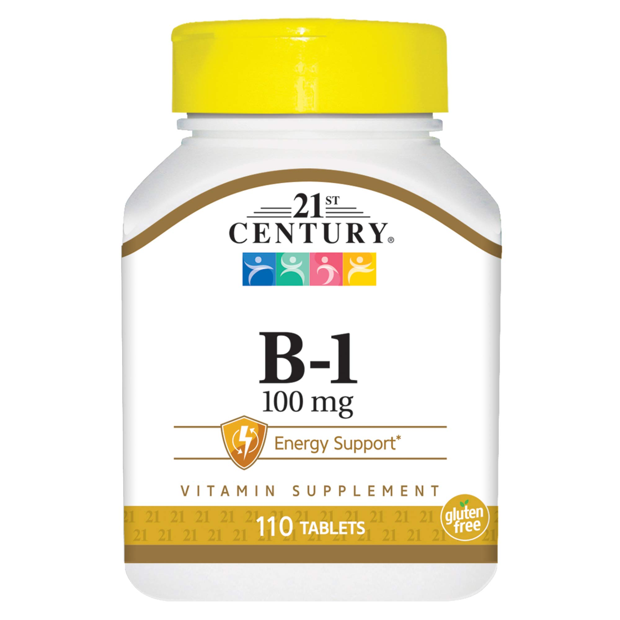 21st Century B-1 Tablets, 100 Mg, 110 Count (Pack of 12)