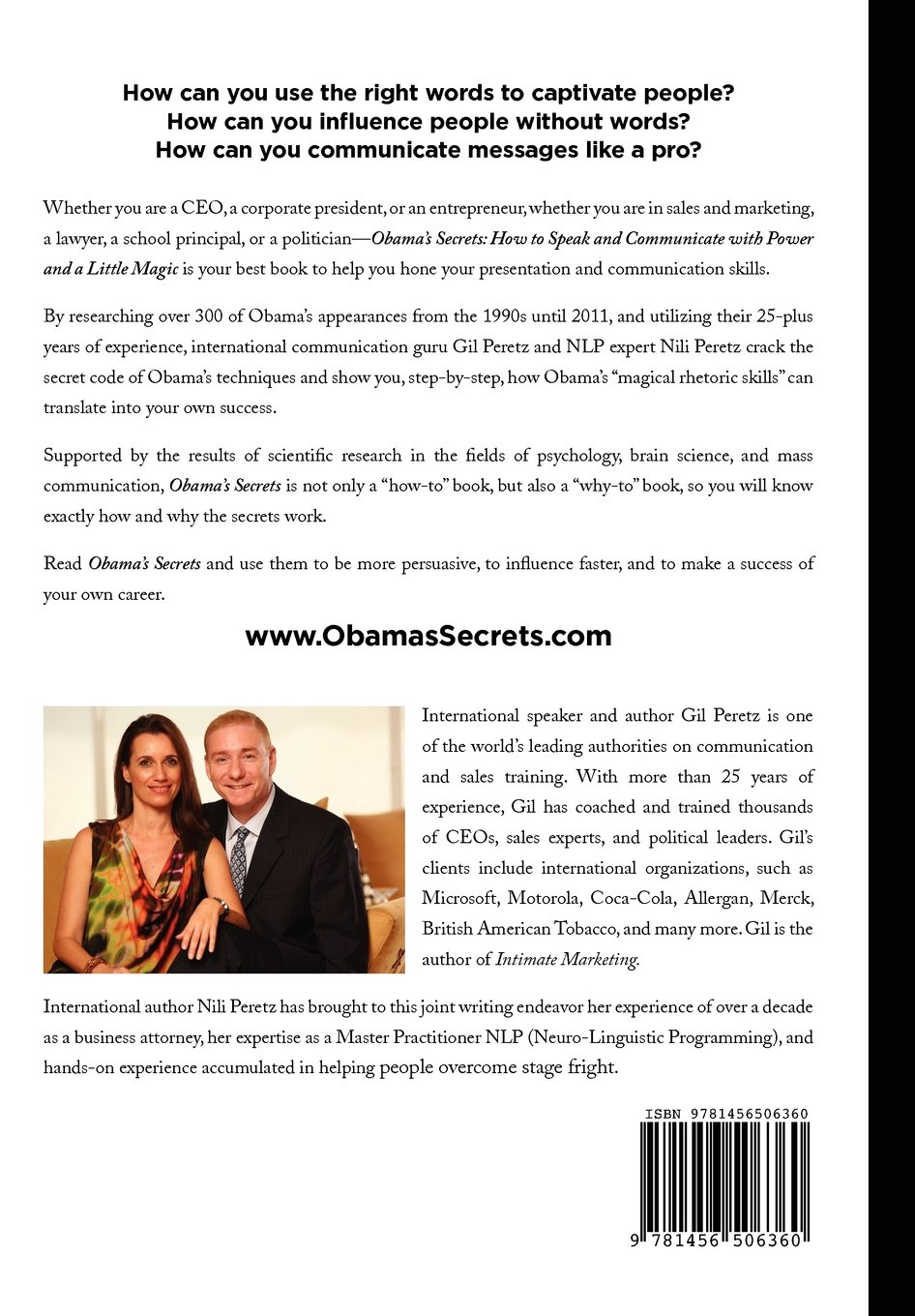 Obama's Secrets: How to Speak and Communicate with Power and