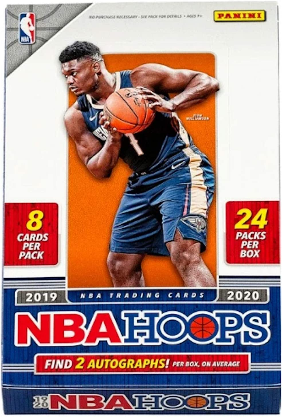 Amazon Com 2019 20 Panini Hoops Nba Basketball Hobby Box