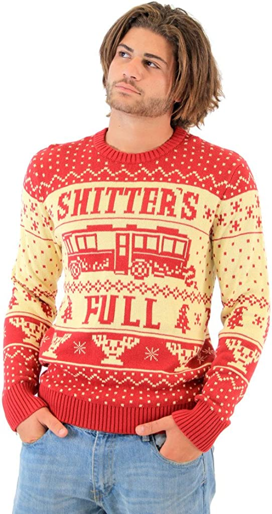 National Lampoon Vacation Shitters Full Ugly Christmas Sweater